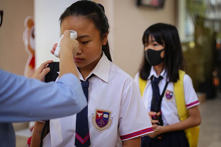 Banyak Sekolah Masih Terkendala Menerapkan Adaptasi Kebiasaan Baru