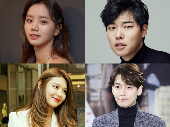 pasangan selebriti korea selatan