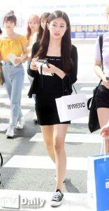 IZ*ONE Hyewon inspirasi fashion