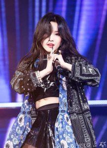 soyeon idol rapper terbaik