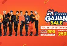 Shopee Gajian Sale promo gajian