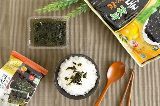 Seaweed flakes snack korea halal