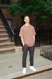 Checked Pants fashion pria