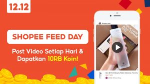 Shopee Feed Day 10RB Koin Shopee