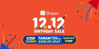 promo 12.12 Shopee