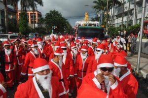 Perayaan Natal di Manado
