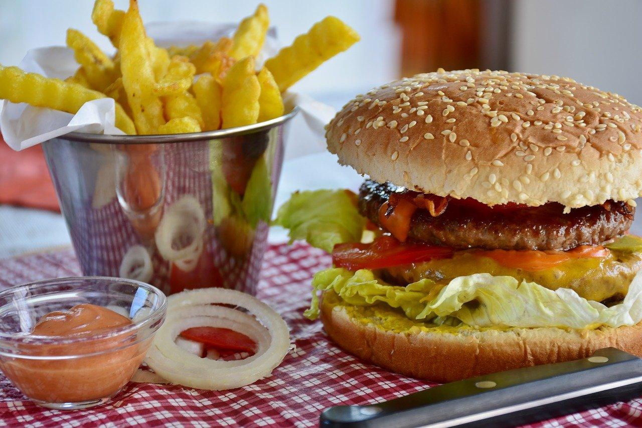 Mengurangi junk food