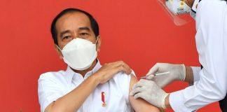 Jokowi Vaksin Sinovac