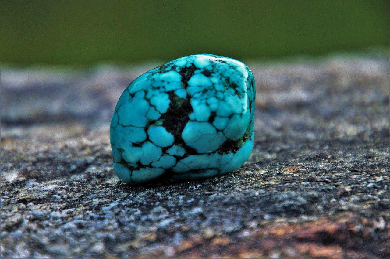 Torsquoise kristal
