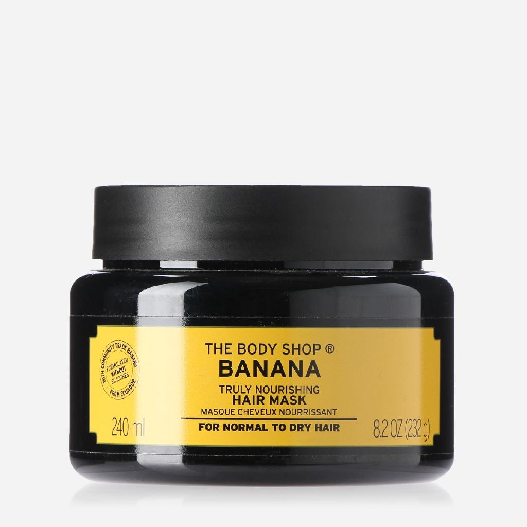 The Body Shop Banana Truly Nourishing Hair Mask Treatment