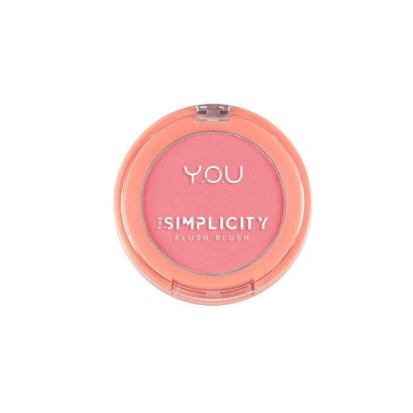 Y.O.U The Simplicity Flush Blush