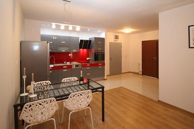 menyatukan dapur dan ruang makan