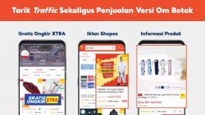 Tarik Traffic Sekaligus Penjualan Versi Om Botak