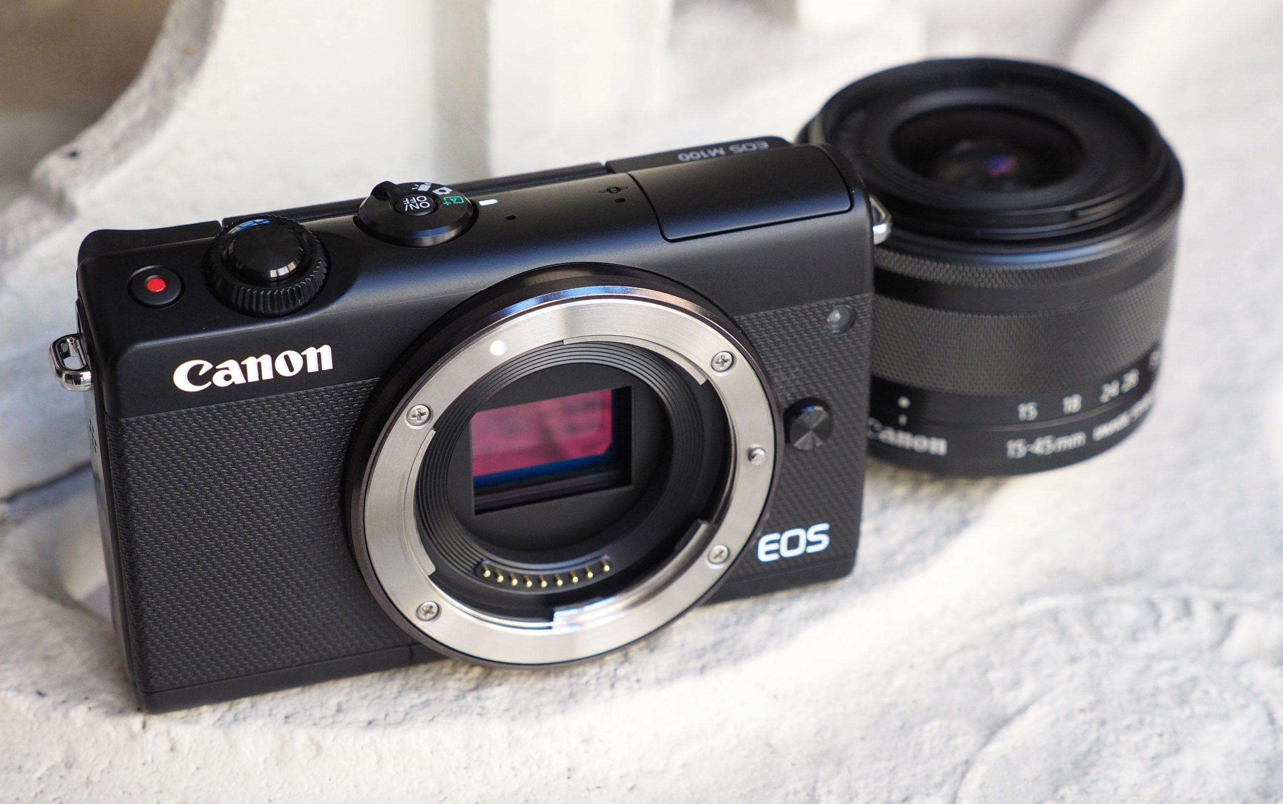 Canon EOS M100  kamera murah terbaik