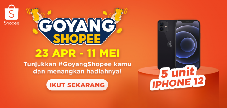 Mau Dapetin IPHONE 12 GRATIS? Yuk, Ikutan Kompetisi #GoyangShopee di TIKTOK Sekarang Juga!