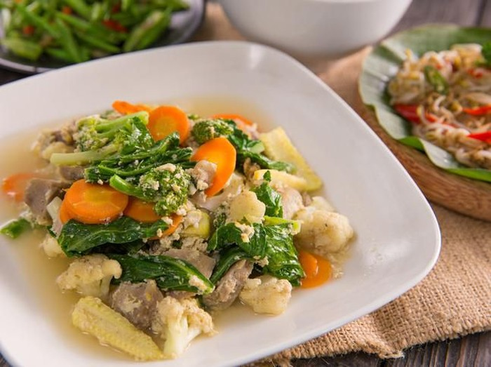 menu sayur