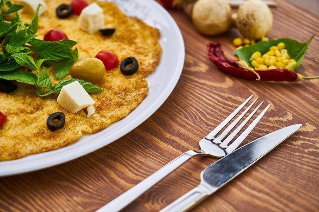 omelet keju