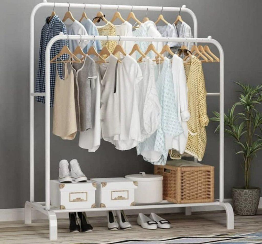 Standing Clothes Hanger Desain Lemari Minimalis