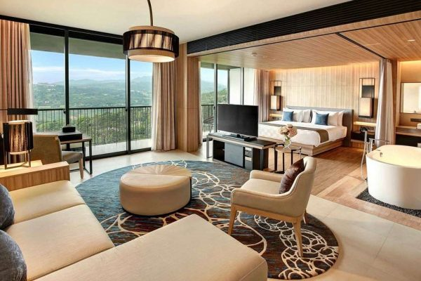 rekomendasi hotel di puncak