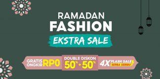 Shopee Ramadan Fashion Ekstra Sale Baju untuk Hari Raya